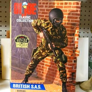 1996 GI Joe action figure, British S.A.S